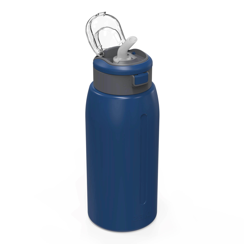Genesis 32 ounce Stainless Steel Water Bottles, Indigo slideshow image 4
