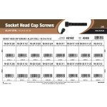 Socket-Head Cap Screws Assortment (#10-24 & #10-32 Thread)