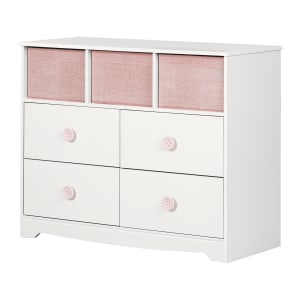 Sweet Piggy - 4-Drawer Dresser with Baskets