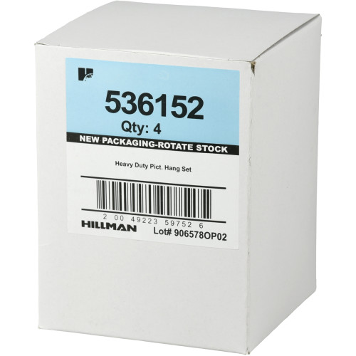 Hillman Zinc Picture Hanging Kit (50lb)