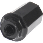 Black Plastic Turn Knob (#4-36 Thread)
