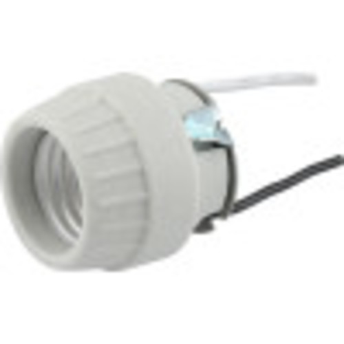 Screw Front Porcelain Socket