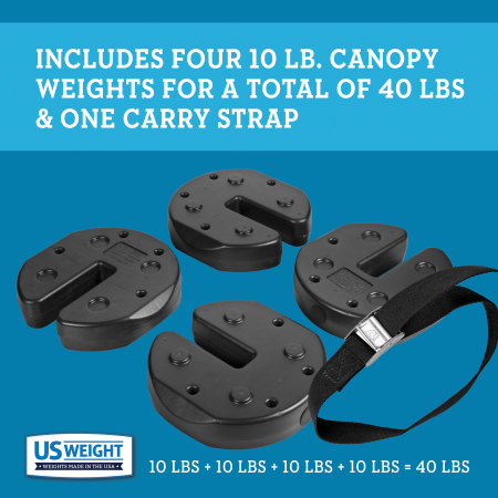 Tailgater Canopy Weights - 40 lbs. 3
