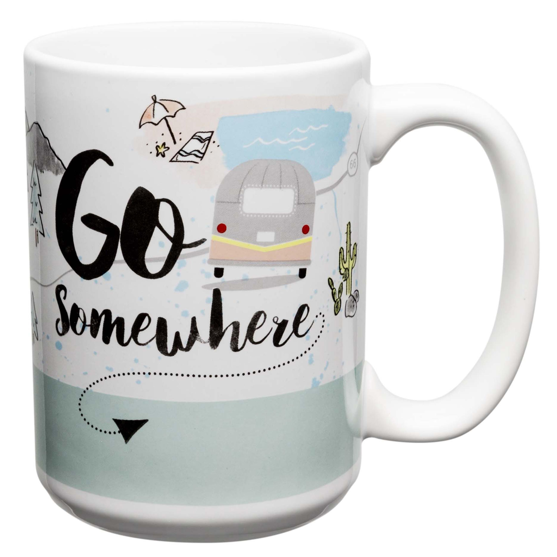 Adventurer 15 oz. Coffee Mug, Go Somewhere slideshow image 1