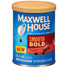 Maxwell House Smooth Bold Coffee 11.5 oz Canister