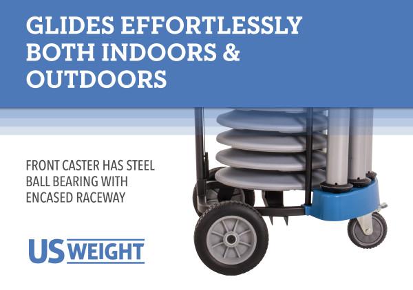 Rover Cart Bundle - Silver Steel 4