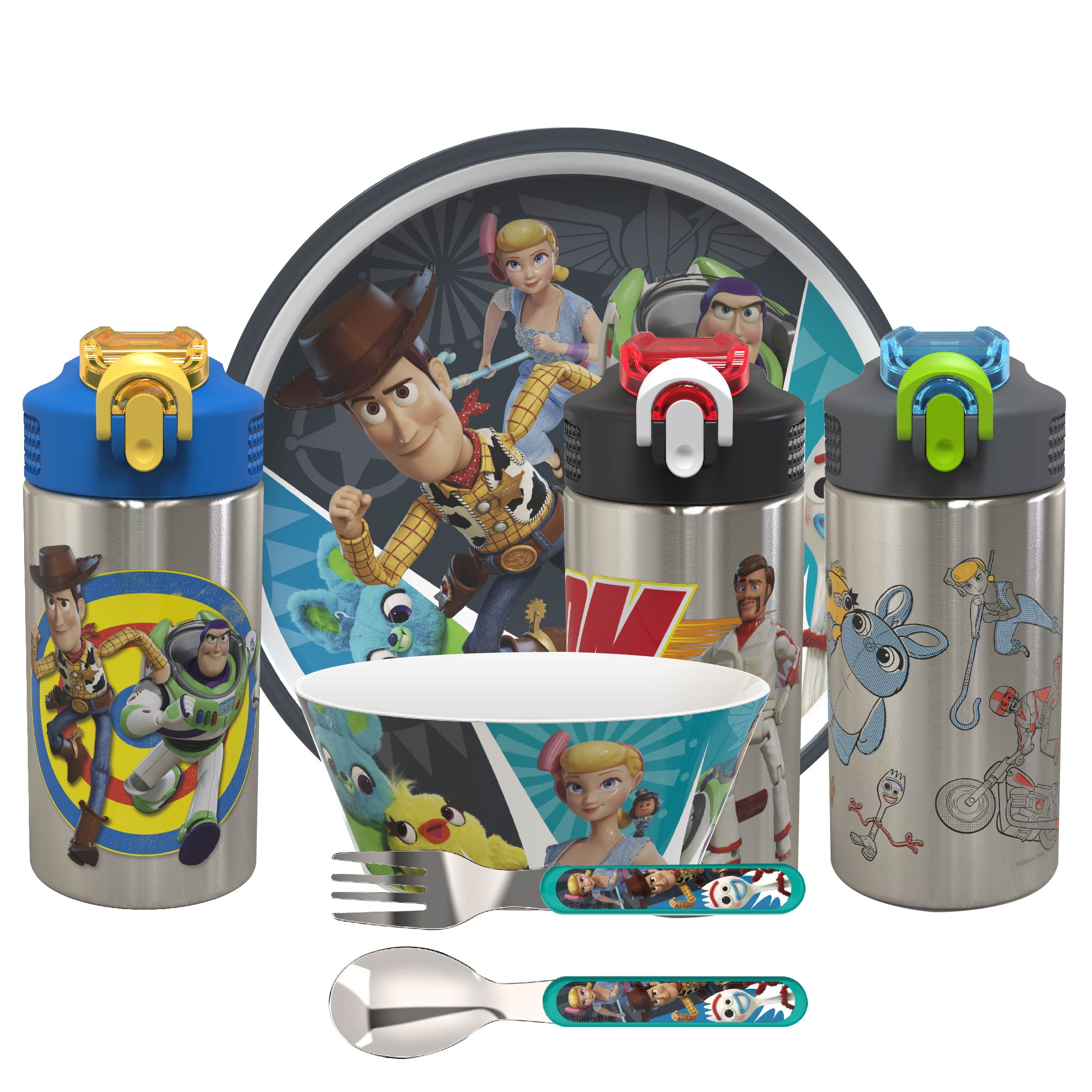 Toy Story 4 15.5 ounce Water Bottle, Buzz, Woody & Friends slideshow image 8