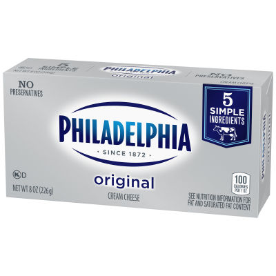 Philadelphia Original Cream Cheese, 8 oz Brick