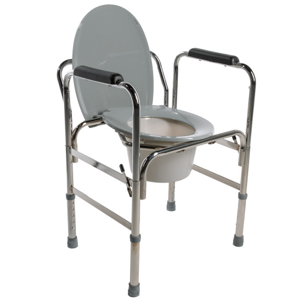 5028 Drop-Arm Commode