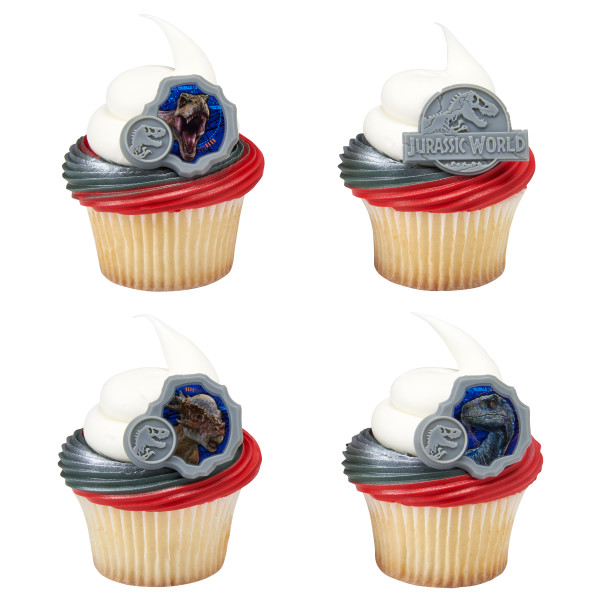 Jurassic World 2 They Were Here First Cupcake Rings