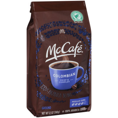 McCafe' Colombian Ground Coffee, 12 oz Bag