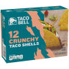 Taco Bell Crunchy Taco Shells 12 count Box