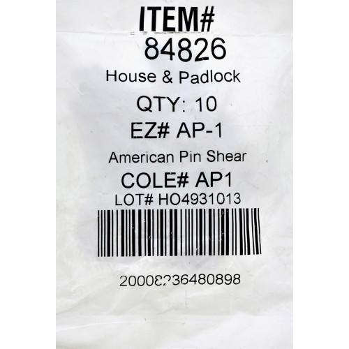 Chicago Padlock Key AP-1