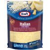 Kraft Italian Five Cheese Shredded Natural Cheese, 8 oz Pouch