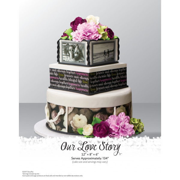 Our Love Story Wedding The Magic of Cakes® Page