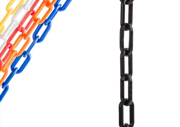 "Black 2"" Plastic Chain Ft. SunShield - 500' 1"