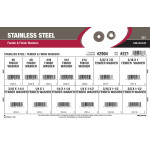 Stainless Steel Fender & Finish Washers Assortment