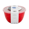 Confetti 1.5 quart Bowl Set, Red