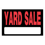 Hillman Yard Sale Sign