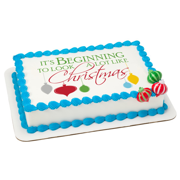 A Lot Like Christmas PhotoCake® Edible Image®