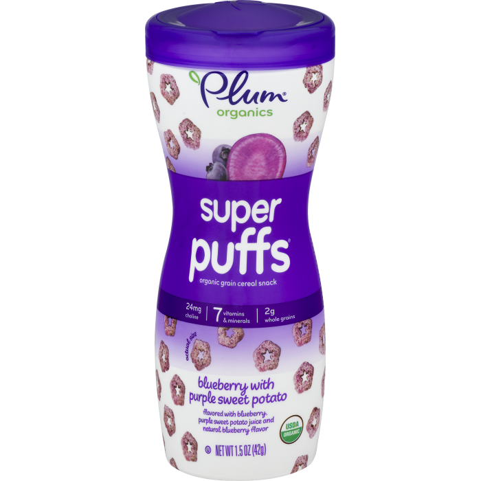Blueberry with Purple Sweet Potato Cereal Snack