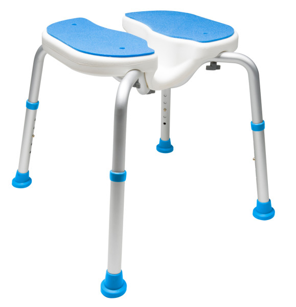 7104 Adjustable Padded Bath Safety Seat With Hygienic Cutout