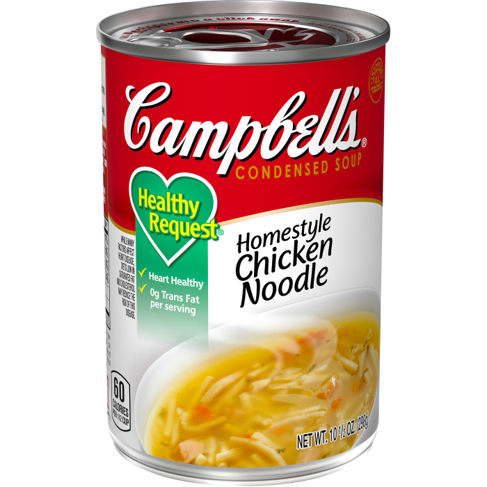 Healthy Request®Homestyle Chicken Noodle Soup
