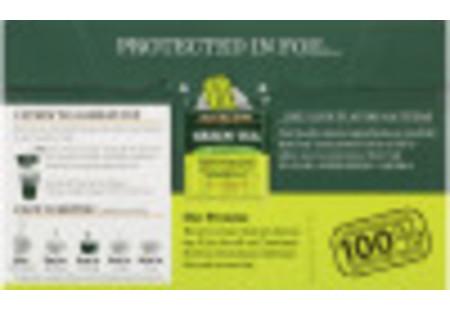 Bigelow Green Tea bag in foil overwrap