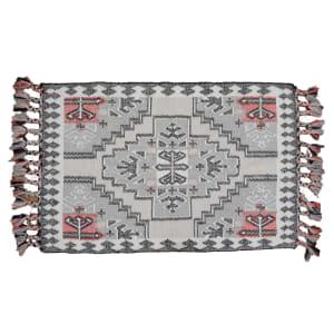 Bernares - Tapis décoratif en laine tissée