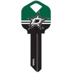 NHL Dallas Stars Key Blank
