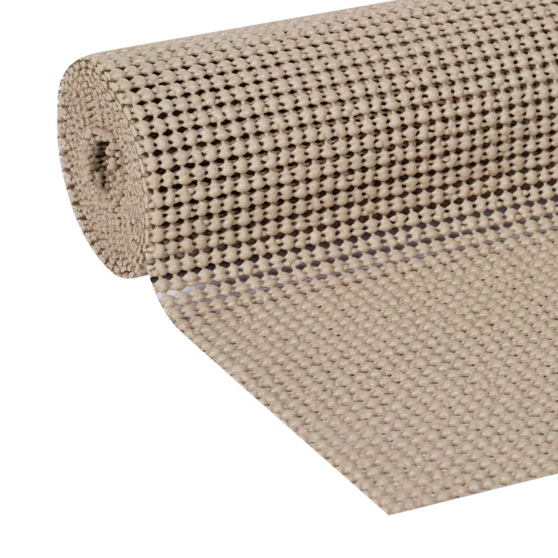 Cabinet Shelf Liner Walmart: Select Grip Easy Liner Shelf Liner W/Clorox Taupe