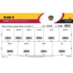 "Grade 8 Hex Nuts Assortment (1/4""-20 thru 1""-8)"