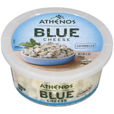 Athenos Crumbled Blue Cheese 5 oz Tub