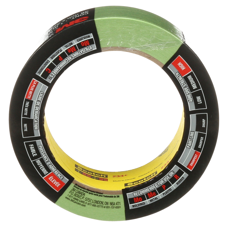 3M™ Automotive Performance Masking Tape, 03433, 36 mm x 32 m, 24 per case