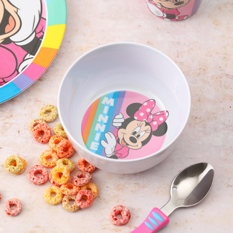 Disney Kid's Dinnerware Set, Minnie Mouse, 3-piece set slideshow image 2