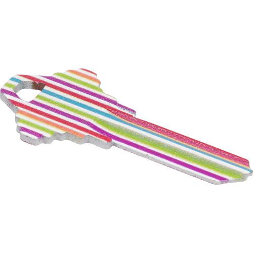 WacKey White Stripe Key Blank Schlage/68 SC1