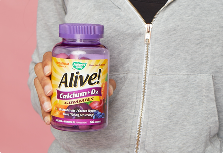 For Healthy Bones, Muscles, and More*
