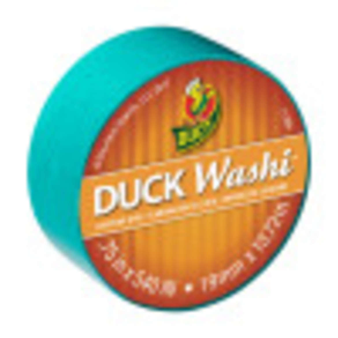 Duck Washi® Crafting Tape - Teal, 0.75 in. X 15 yd. Image