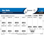 "Aluminum Hex Bolts Assortment (1/4""-20 & 5/16""-18)"