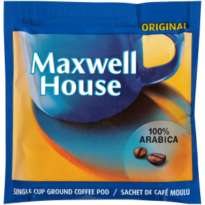 MAXWELL HOUSE In-Room Coffee Pods, 8 gr. (Pack of 8) image