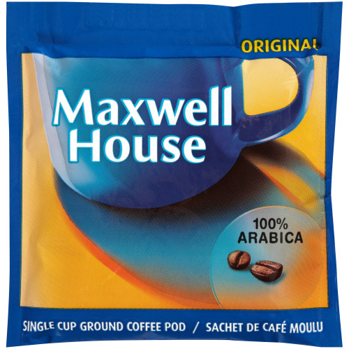 MAXWELL HOUSE In-Room Coffee Pods, 8 gr. (Pack of 8)