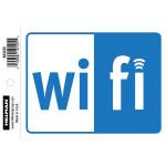 Self Adhesive Wi-Fi Sign