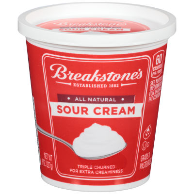 Breakstone's All Natural Sour Cream 8 oz Tub
