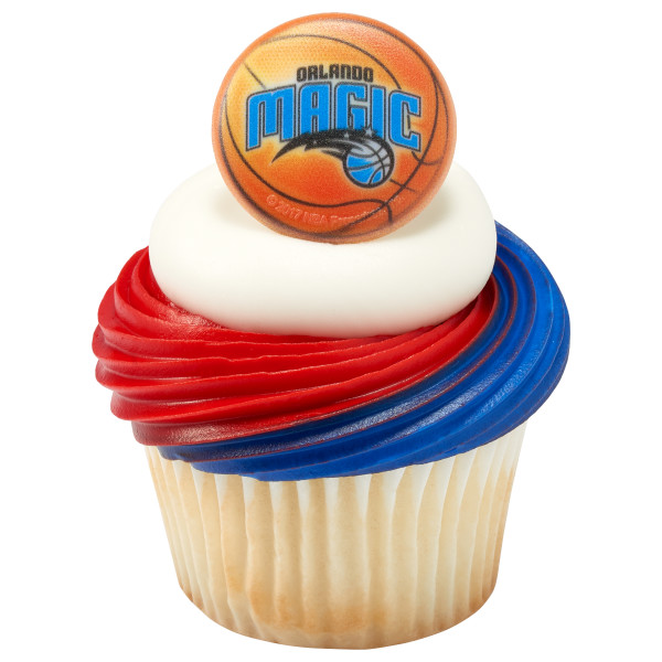 NBA Orlando Magic Cupcake Rings