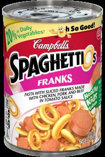 SpaghettiOs® with Franks