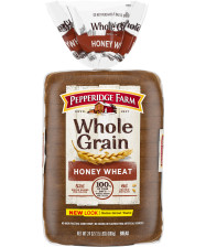 Pepperidge Farm® Whole Grain Honey Wheat Bread, toasted