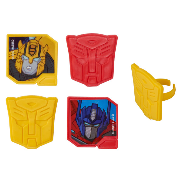 Transformers™ Autobot Protectors Cupcake Rings