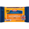 Kraft Mild Cheddar Natural Cheese 16 oz Wrapper