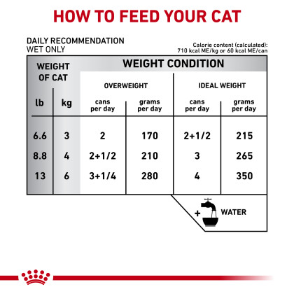 Royal Canin Veterinary Diet Feline Gastrointestinal Moderate Calorie Canned Cat Food