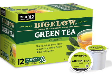 Green Tea K-Cup® pods - Case of 6 boxes - total of 72 K-Cup® pods